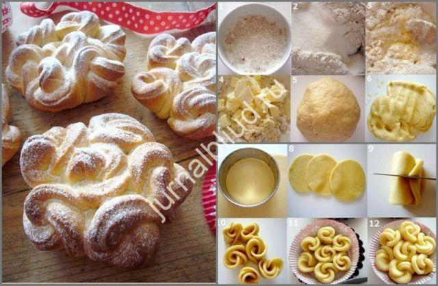 Кружевные булочки фото