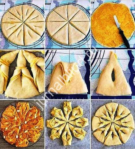 пирог Цветок рецепт с фото