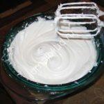 Белковый заварной крем фото