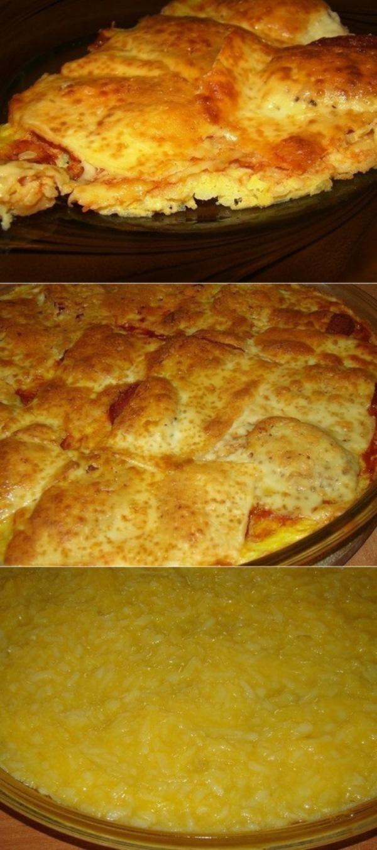 Картофельная....почти пицца