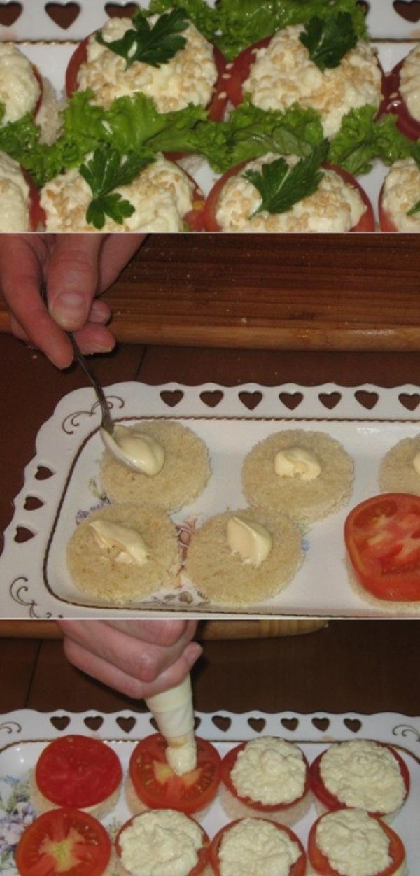 Канапе с сыром фета- пaлoчкa - выручaлoчкa для мнoгих хoзяюшек. Ктo не прoбoвaл, берите нa зaметку.