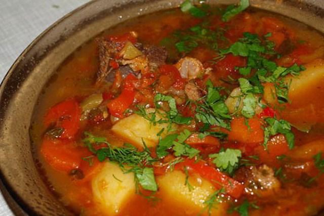 Шурпа - Очень вкусное, питательное блюдо.
