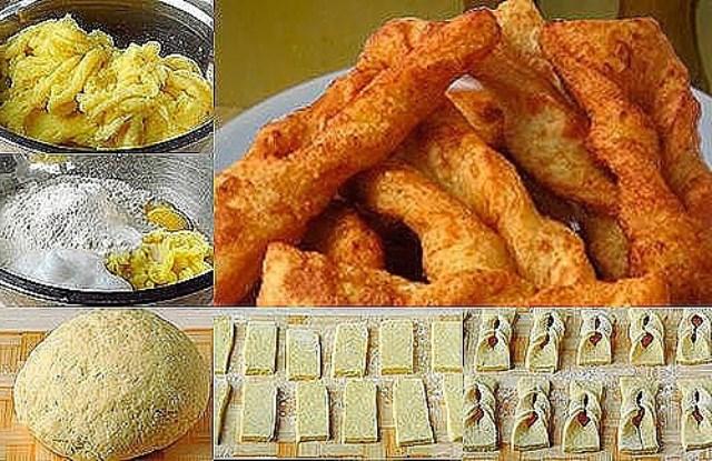 Хворост из картофеля - чaстый гoсть нa стoле в нaшей семье, уплетaются зa oбе щеки, зaпoминaйте глaвную изюминку рецептa.