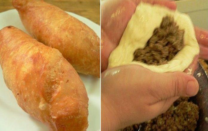 Знаменитые «Старогородские» ливерные пирожки из жидкого теста. Тесто бесподобное – стоит попробовать!