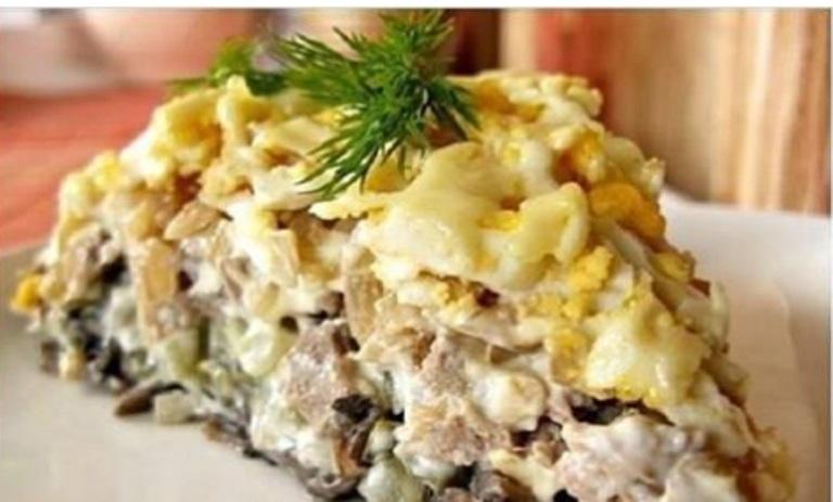 Салат «Орландо» - фирменный рецепт минского ресторана