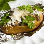 Картофель, фаршированный грибами: французское блюда. Вкусное блюдо на скорую руку
