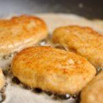 Куриные котлеты с плавленым сыром. Проще не бывает!