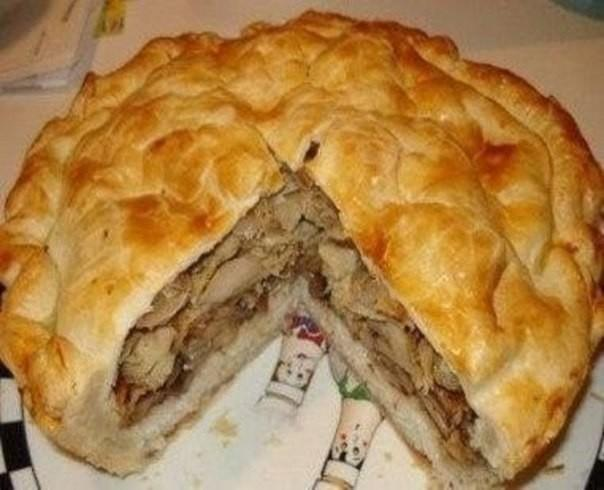 Узбекский курник - настоящий царь пирогов