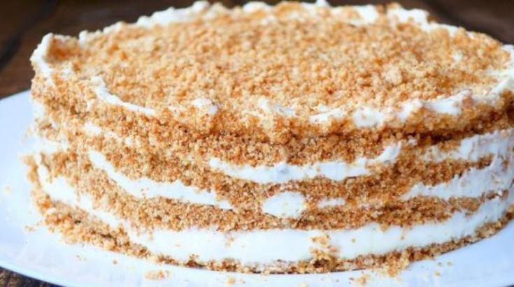 Нежнейший торт пломбир без духовки