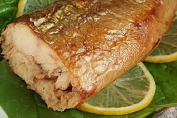 Скумбрия за 3 минуты. Вкуснейшая золотистая рыбка без коптильни и химии
