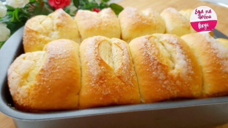 Это будет ваш любимый рецепт булочек. Воздушные, как пух!