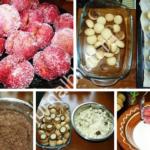 пирожное Персики фото