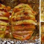 Картошка-гармошка рецепт фото