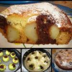Вкусный пирог с яблоками и шоколадом