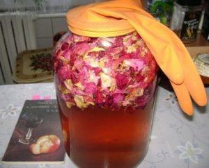 Забытый рецепт вина из роз
