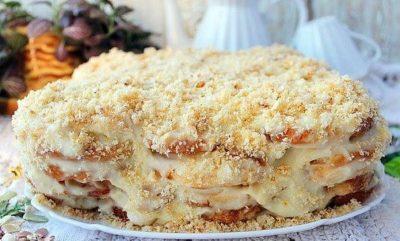 Самый ленивый торт без выпечки