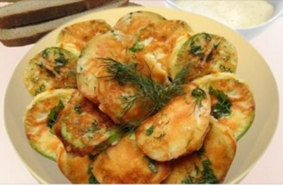Кабачки в сырном кляре — бомбически вкусная закуска