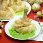 Блюда для Новогоднего стола! Куриные ножки в мешочке из слоеного теста