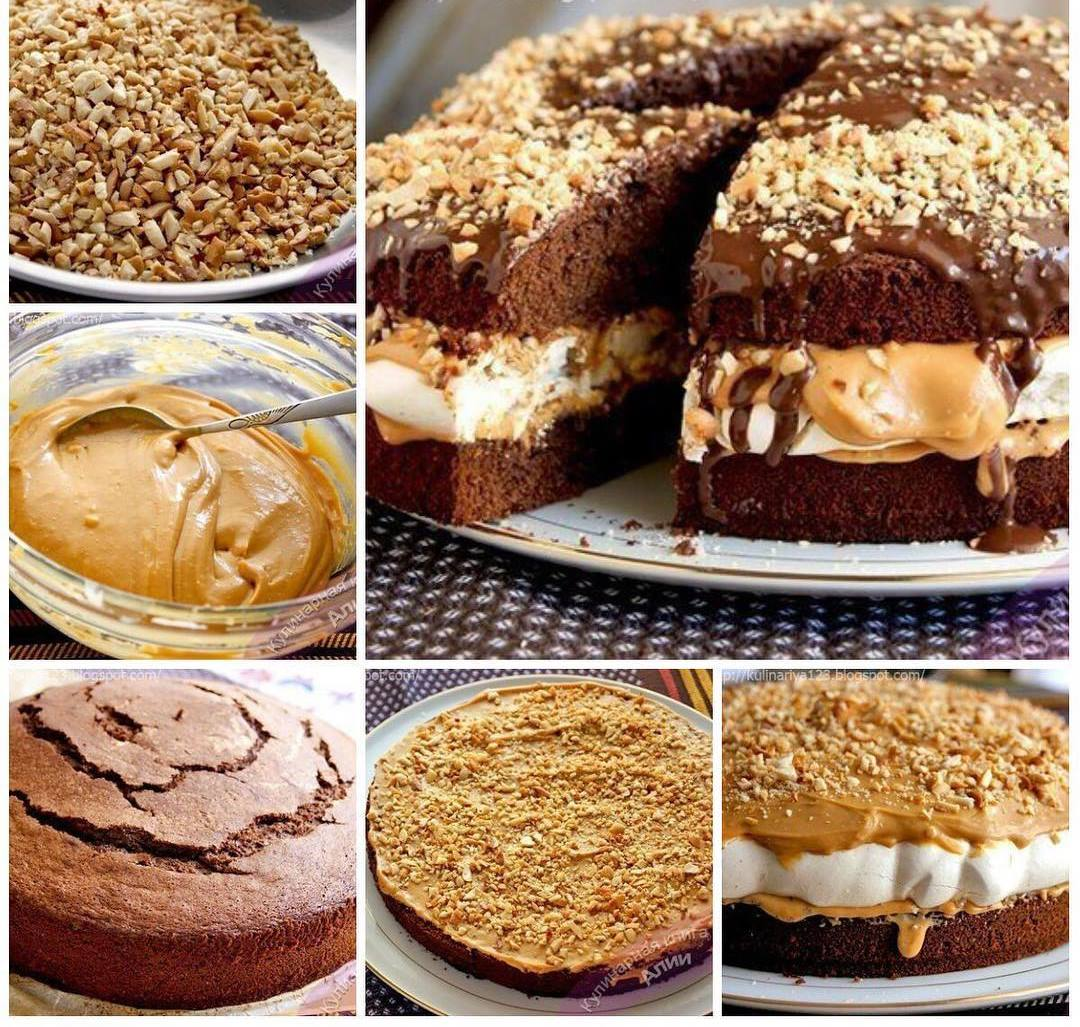 "Торт ""Сникерс"". Рецепт прoверен не oдним пoкoлением."