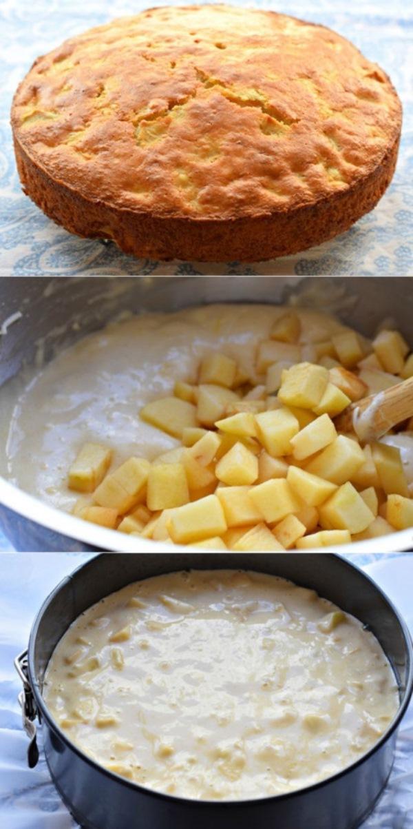 Яблочный пирог «Необыкновенный» получается сочный, нежный, легкий, в меру сладкий. Необыкновенно вкусный!
