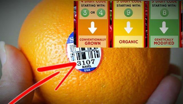 Если вы видите цифру 8 на наклейке на фрукте, не покупайте его! Вот почему