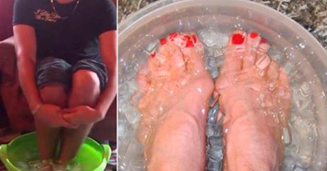 Японская техника: поместив ноги в эту смесь, вы забудете о болях в ногах, устраните токсины, укрепите иммунитет и не только!