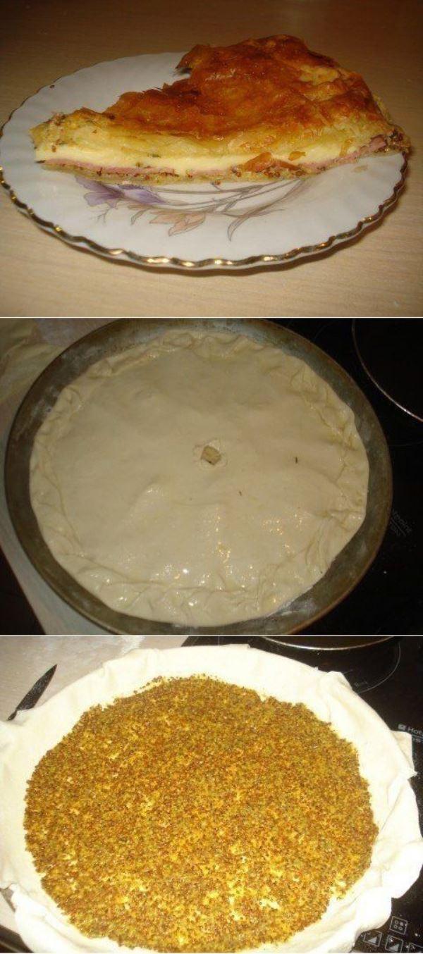 Французский пирог. Буквально тает во рту. Рецепт достоин внимания.