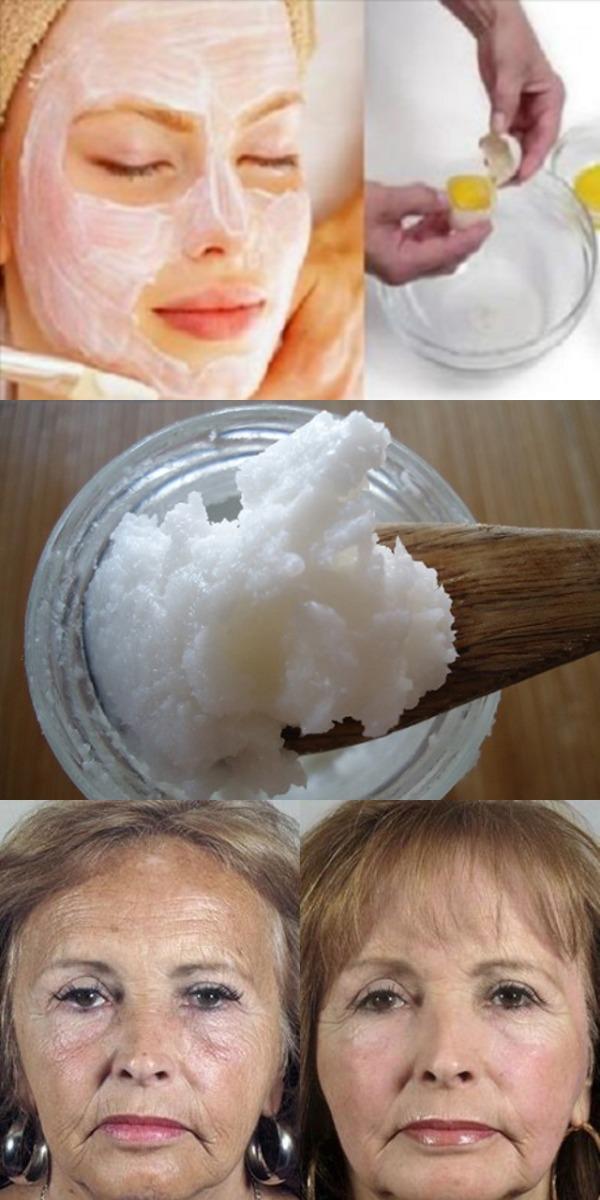 Это подтягивает кожу лучше, чем ботокс Эта 3-х ингредиентная маска для лица заставит вас выглядеть на 10 лет моложе!