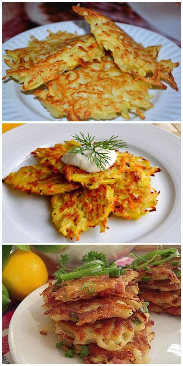 Самый удачный рецепт картофельных драников