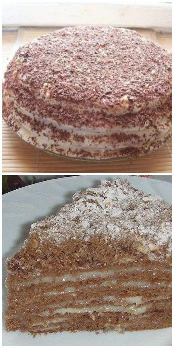 ТОРТ «ПЧЁЛКА»… Очень вкусный, сочный торт, просто сказка