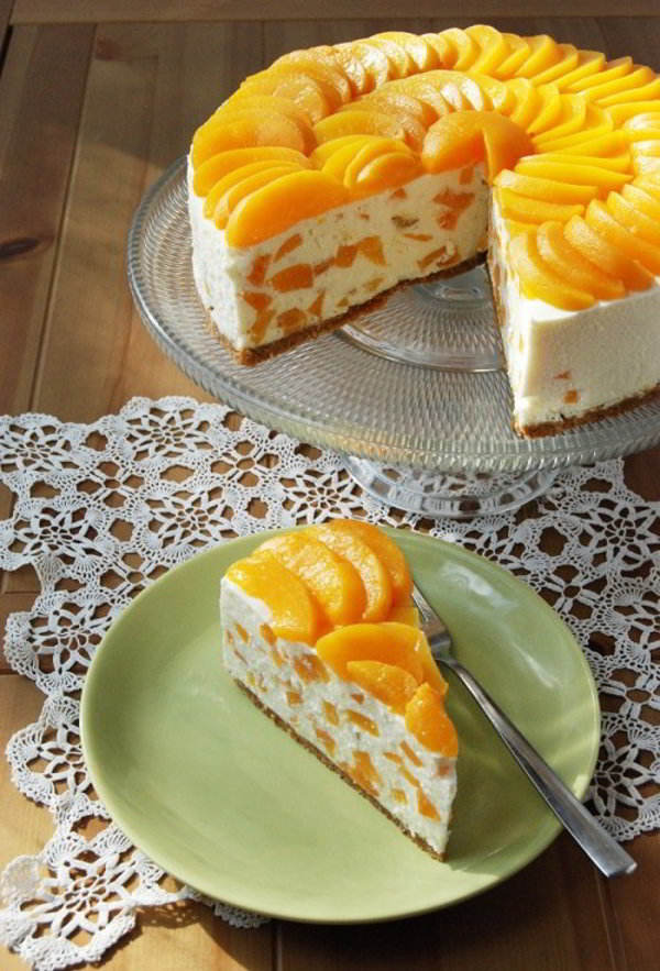 Вкуснейший творожный торт с апельсином без выпечки… ВЕСЬМА УДАЧНЫЙ И НЕ ХЛОПОТНЫЙ РЕЦЕПТИК!