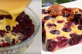 Французский десерт, в котором много начинки и мало теста «Клафути»