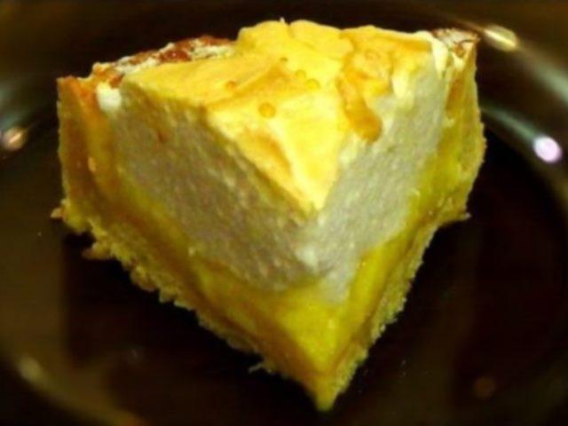 Ароматный, рассыпчатый, просто великолепный пирог к чаю!!!! Лимонный пирог с безе.