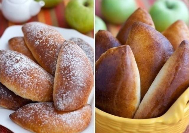 Вкусно, как у бабушки: чудесные тающие во рту яблочные пирожки.