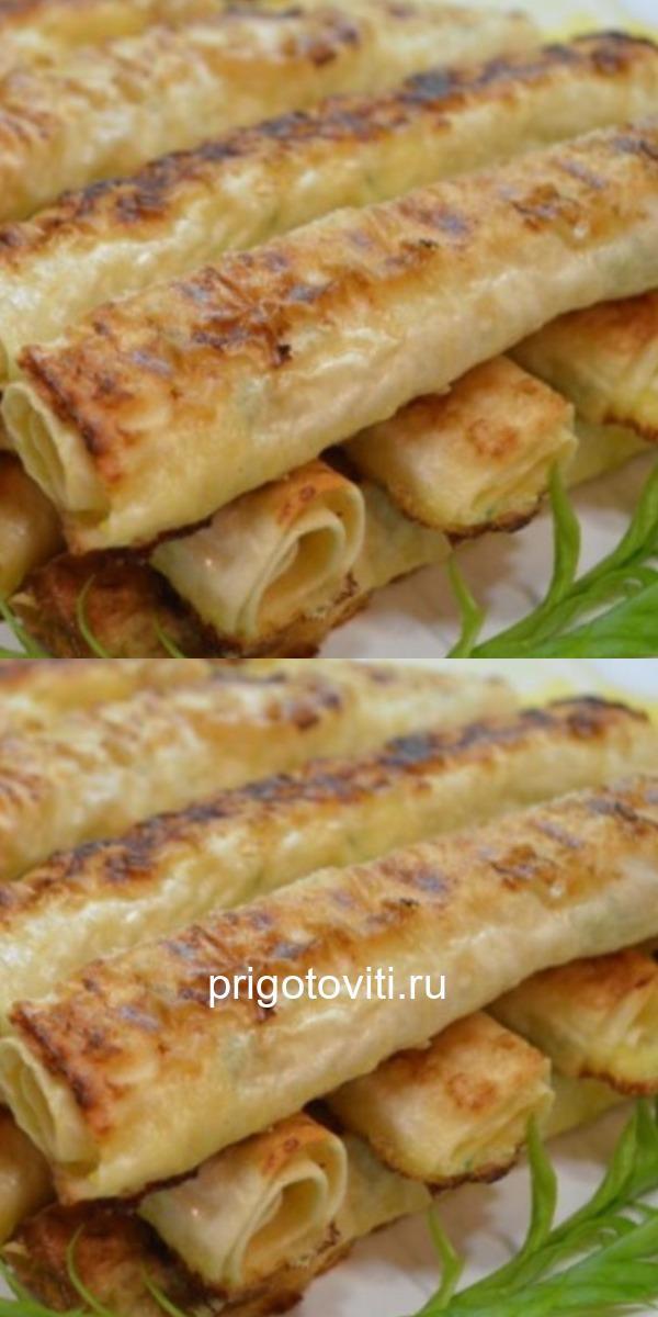 Лаваш в духовке с сыром и куриным филе.