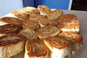 Оригинальная закуска из армянского лаваша. Быстро и очень вкусно!