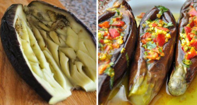 Баклажаны по-египетски - простое, но очень вкусное и оригинальное блюдо.