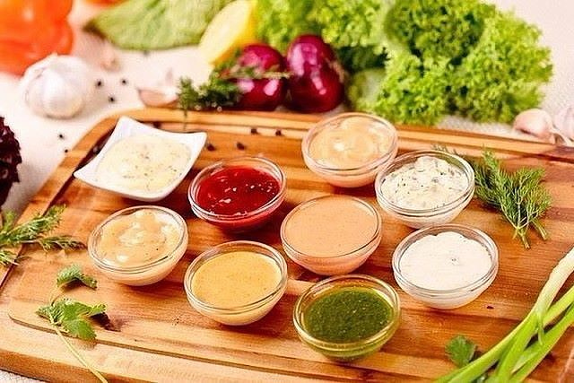 10 вариантов разных соусов