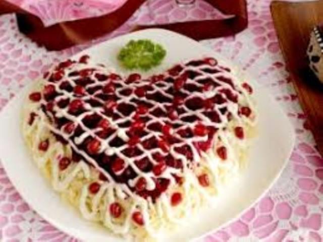 Caлaт «Пpизнаниe». Вкусно и фантастически красиво! Супер салатик!